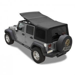 Bestop Twill Supertop Nx Soft Top With Tinted Rear Side Windows