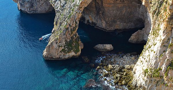 Amazing Nature Views -The Blue Grotto -Malta beach tropical island luxury vacation