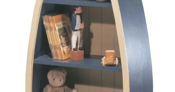Wooden Boat Bookcase | Designer Children's Furniture| Luxury Bookshelf | Childrens Woodworking ...