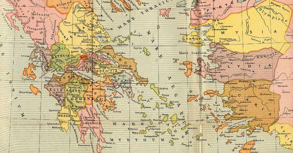 Cartina Mondo Excel.Grecia Antica Cartina Grecia Antica Grecia Immagini