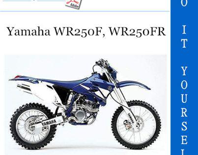 2003 Yamaha Wr250f Wr250fr Motorcycle Owner S Service Manual Yamaha Manual Repair Manuals