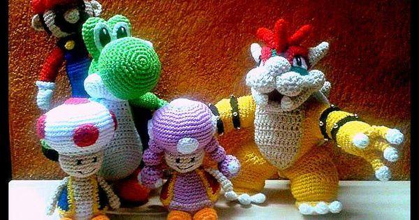 Patron Amigurumi Mario Bros En Espanol : Mario bross. Amigurumis: personajes de videojuegos ...
