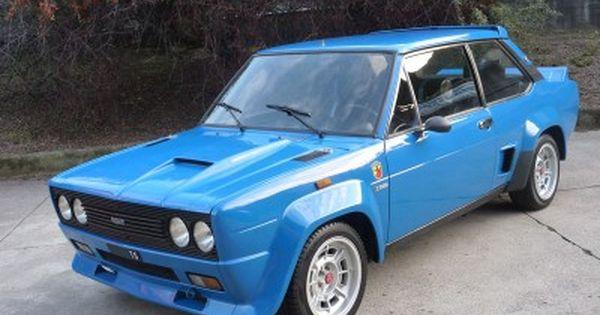 1976 Fiat 131 Abarth For Sale 62 000 Con Immagini Auto D