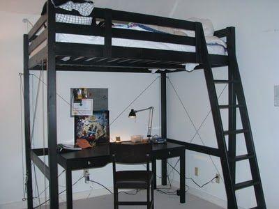 Stora Bed Bracing Ikea Loft Bed Hack Ikea Loft Bed Ikea Bunk Bed