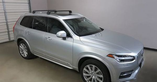 Volvo Xc90 Thule Black Aeroblade Edge Roof Rack 15 17 Roof Design Roof Shed Roof