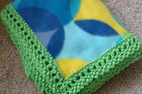 Ravelry Edge For Fleece Baby Blanket Unisex Style