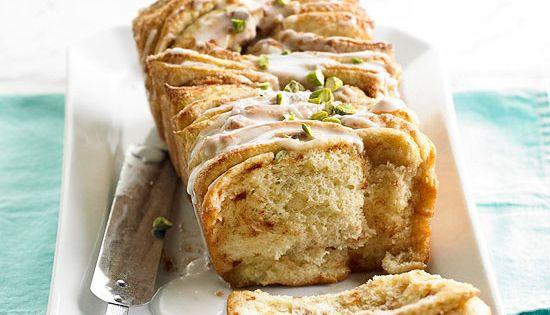 Overnight Pull Apart Cinnamon Loaf bread recipe
