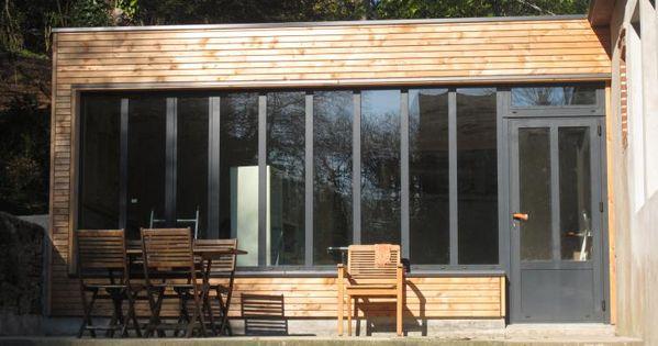 Bois composite design extension bois concarneau 29900 for Extension maison yourte