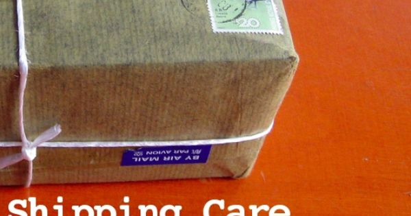 Shipping Care Packages Overseas. Good tips here