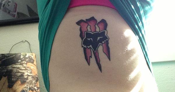Monster Energy Amp Fox Racing Tattoo Tattoos Tattoos