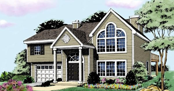 Split Roof Design: Best Ideas For Split Entry House Designs-blocked By