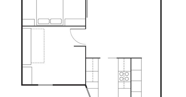 How one family of three does it all in 675 square feet for 675 sq ft floor plan