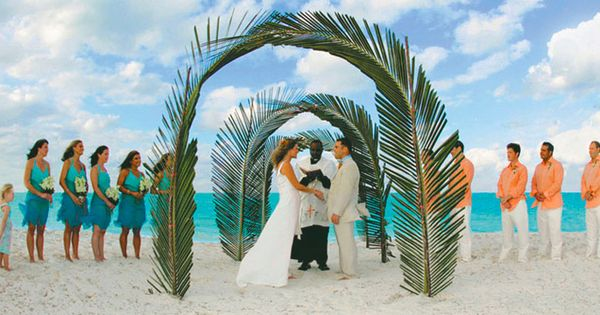 caribbean bahamas all inclusive affordable beach wedding