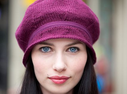 mulberry hat free pattern Knitted headwear Pinterest Hats for cancer pa...