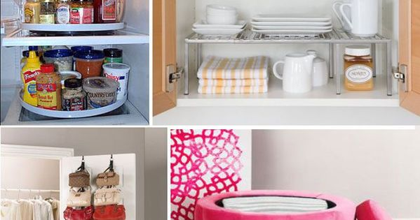 25 Genius Tips and Hacks to Organize