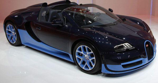 The new Bugatti Veyron Grand Sport Vitesse via theglobeandmail sport cars celebritys