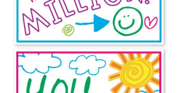 Free positive postcard designs to print on VistaPrint!