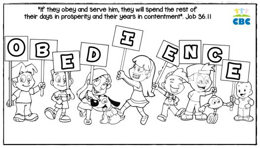 Drawing To Colour Odedience Sunday School Coloring Pages Bible Coloring Bible Coloring Pages