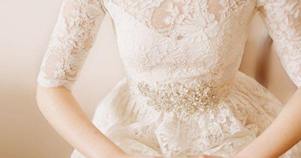 elegant sheer lace top dress