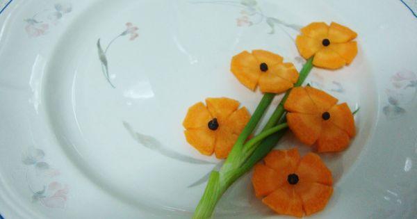 Easy food garnish | Food fanatics | Pinterest | Onions ...