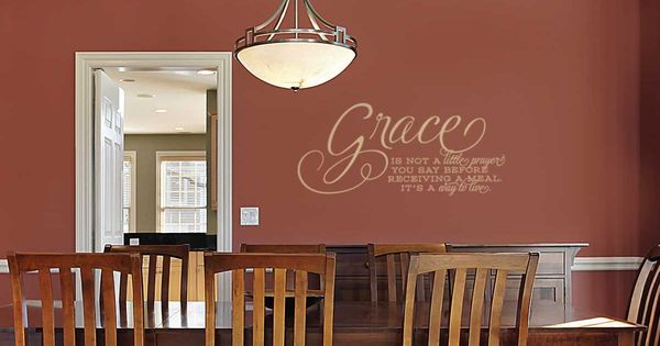 Wall Grace Design : Love the idea of putting vinyl on ceiling around
