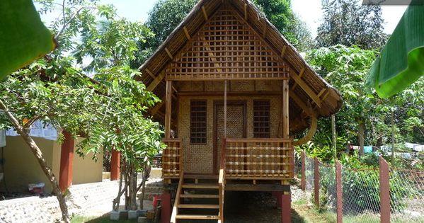 Bahay Kubo Nipa Hut Pinterest House Bungalow And