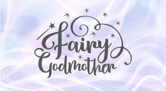 Baptism Svg Files For Cricut Fairy Godmother Proposal Christening