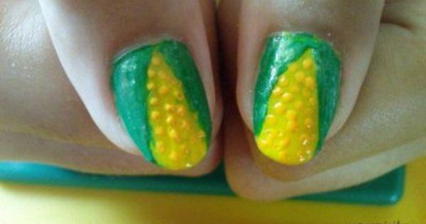 corn nail art art