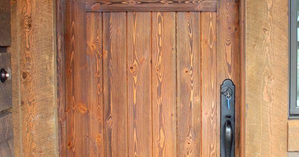 Douglas Fir Door Exterior Doors Pinterest Firs Doors And Douglas Fir