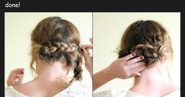 valentine's day dance hairstyle :)