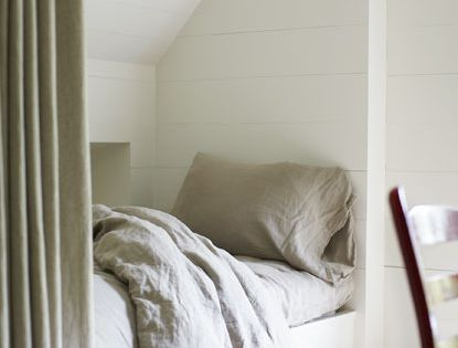 Sleeping nook for small space. bedroom