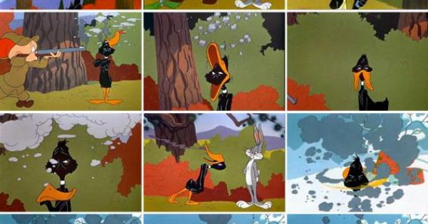 The Amazing Variety of Results When Daffy Duck Gets Shot ...