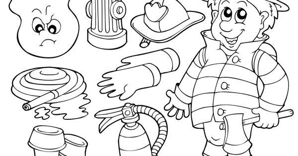 feuerwehr ausmalbilder 07  kindergarten  pinterest