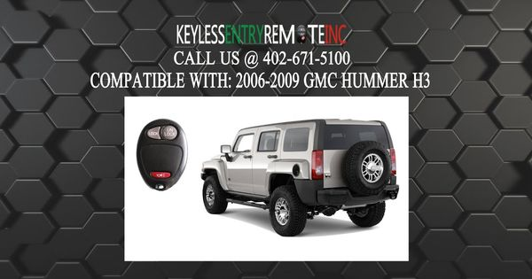 How To Replace A Hummer H3 Key Fob Battery 2006 2010 Hummer H3