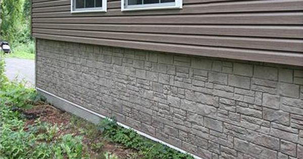 Durable Pvc Siding The Smart Choice For Home Exteriors Remodeling Mobile Homes Mobile Home Skirting Mobile Home Exteriors