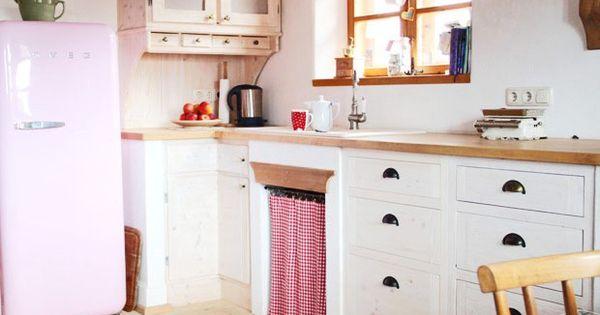 Vorhänge fürs Küchenregal Ideen rund ums Haus Pinterest Home - Küche Ikea Landhaus
