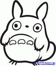 How To Draw Chibi My Neighbor Totoro And Totoro Chibi Drawings My Neighbor Totoro Totoro