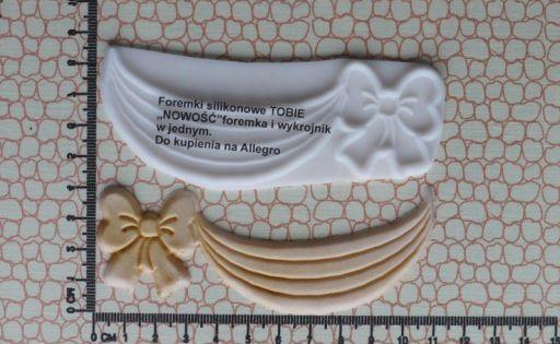 Foremka Silikonowa Tobie 10x9 Girlanda 7224077864 Oficjalne Archiwum Allegro Desserts Cake Food