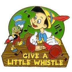 Disney Pinocchio Jiminy Cricket Music Notes Pin Pins Jiminy Cricket Disney Collectables Disney Music