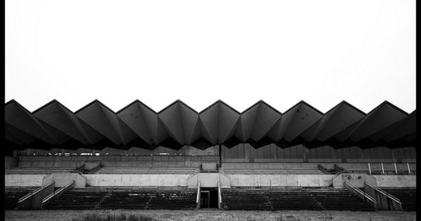 Hippodrome De Groenendaal Retro Modern Architecture Roof