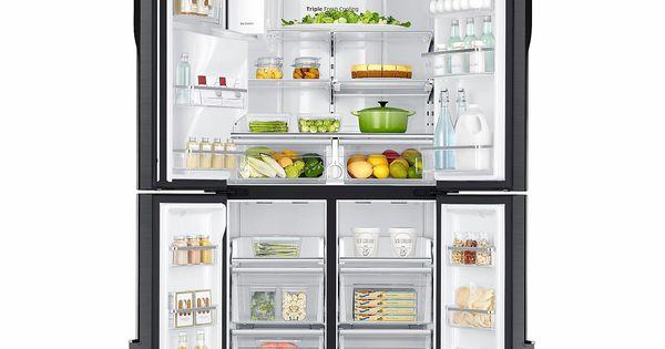 Samsung 23 Cu Ft Counter Depth 4 Door Flex Refrigerator With