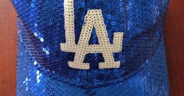 Victoria S Secret Pink Mlb Sequin Hat Los Angeles Dodgers