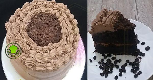 كريمة وحشوة الكيك الفاخرة Cake Filling الوصفة كريمة تزيين و حشوة الكيك بالشوكولاته الفاخرة 250 غرام شوكولاتة قالب Desserts Cake Food