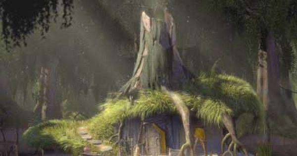 shrek  shrek u0026 39 s house in the swamp