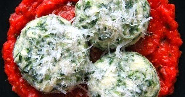 Spinach Gnudi aka Naked Ravioli! | Pasta | Pinterest | The o'jays ...