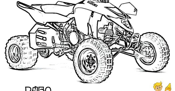 Atv Coloring Free Atv 4 Wheeler Atv Printables Atv