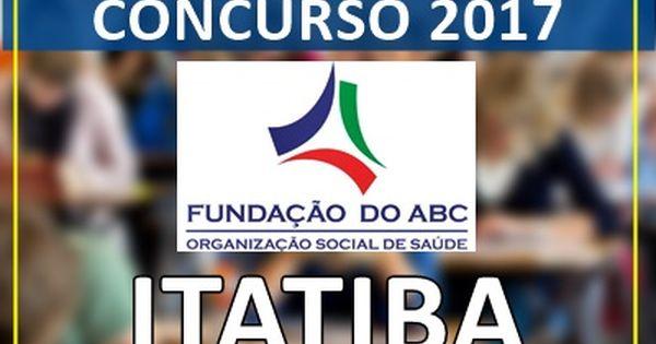 Apostila Concurso Fundacao Abc Itatiba Sp 2017 Concurso