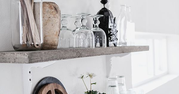 These Floating Shelves Would Look Great Above My Kitchen