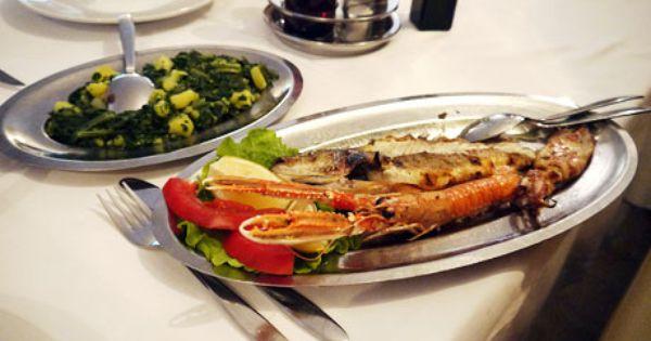 valentine's day menu fish