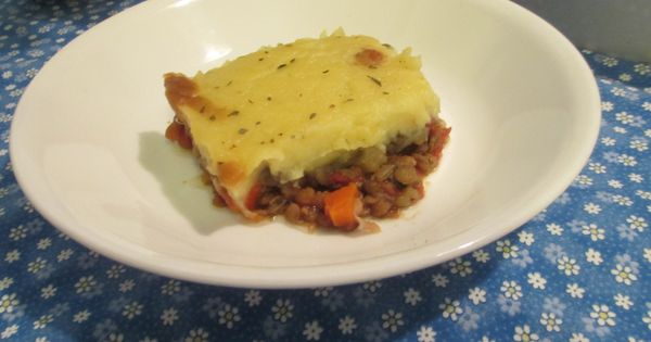 ... sweet-potato-shepherds-pie/ | Vegan Recipes | Pinterest | Lentils
